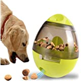 SRI Interactive Tumbler Pet Automatic Food Ball Dispenser Feeders for Medium Small Dog Cat Puppy Kitten (Green), Green, Small, 500 g