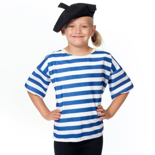 French T-shirt and Beret Costume for (French Costume)