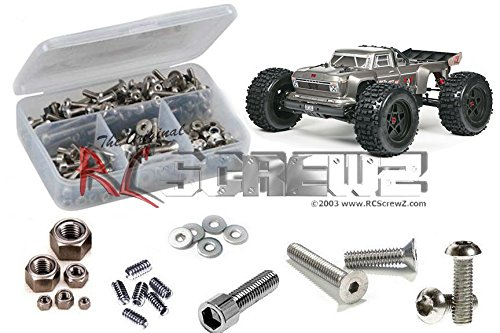 ARRM015 for Arrma RC Kit AR106021 Arrma RC Outcast 6s BLX Stainless Steel Screw Kit RCScrewZ