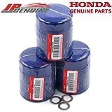 Genuine Honda / Acura Engine Oil Filter + Washers 15400-PLM-A02 - Set Of 3