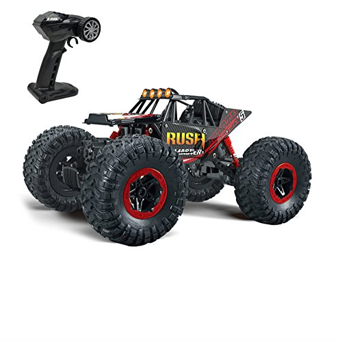 Rabing 1/16 Scale RC Car Newest High-speed Remote Control Car 4WD Radio Controlled Electric Vehicle Off-road Rock Crawler - Radio Controlled Hobby Cars
