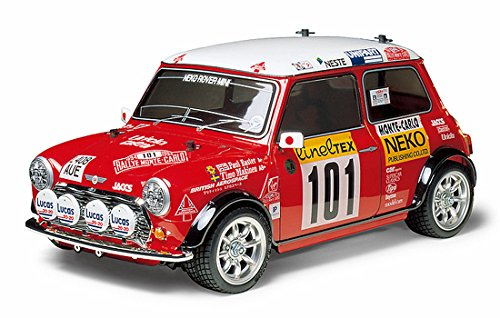 amazon com mini cooper 94 monte carlo kit m05 toys games rh amazon com Tamiya M05 Mini Cooper Tamiya Mini Cooper JCW Body