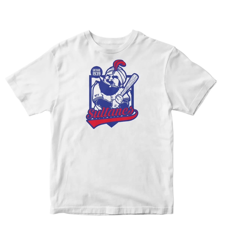 Tjsports Sultanes De Monterrey Camisa Shirt Mexico Beisbol Baseball