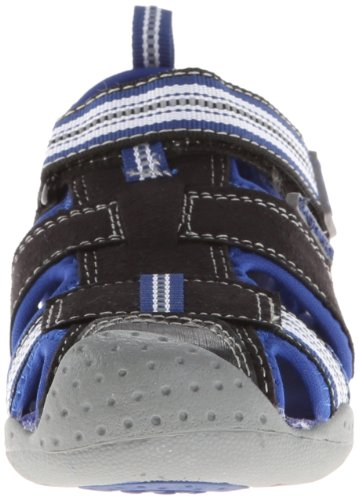 PediPed Sahara - Sandalias Punta Cerrada Niños Black (Black King Blue)
