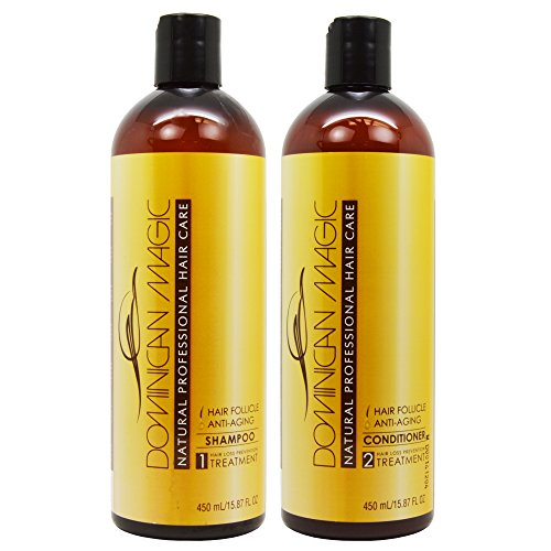 Dominican Magic Hair Follicle Anti-Aging Shampoo & Conditioner 15.87oz Duo 'Set'