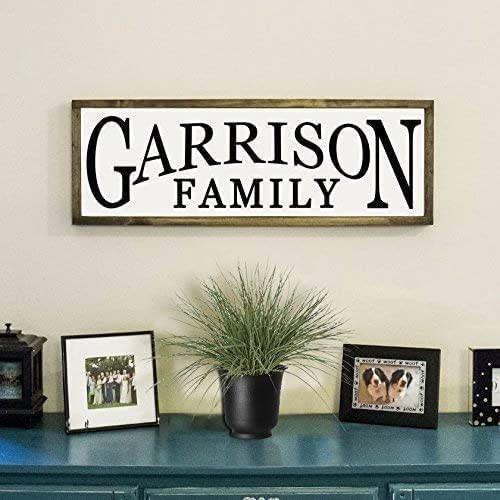 Personalized Signs For Home Decorating: Amazon.com: Personalized Family Farmhouse Sign