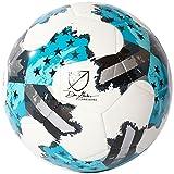 adidas Performance MLS Glider Soccer Ball, White/Energy Blue/Bold Onyx, Size 4