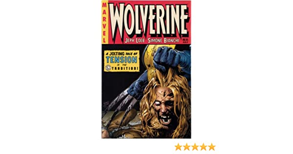 Marvel Wolverine #55 Comic Book Death of Sabertooth Variant