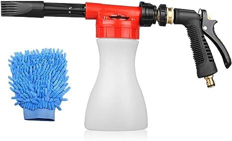 Car Foam Gun >> Ges Car Foam Gun Adjustable And Blaster Car Wash Sprayer With 0 23 Gallon Bottle Adjustment Ratio Dial Foam Sprayer Fit Garden Hose For Car Home