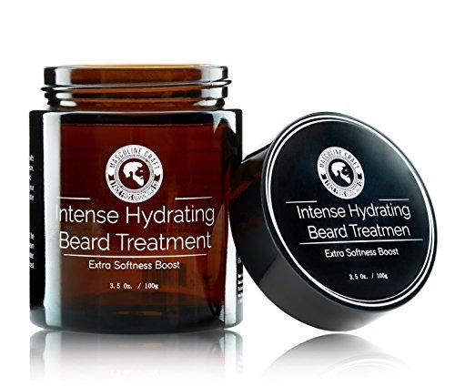 Masculine Craft Intense Hydration Beard Treatment | Men's Beard Conditioner & Softener | Beard Moisturizer - Softens, Strengthens & Helps Stimulate Health Beard Growth