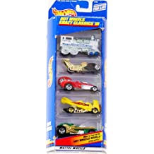 1998 - Mattel - Hot Wheels Gift Pack - Crazy Classics III - 5 Wildly Customized Vehicles - Rare - Out of Production - Die Cast - Collectible