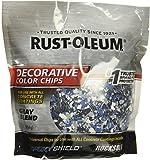 Rust-Oleum 301359 Decorative Color Chips, Gray Blend, 1lb