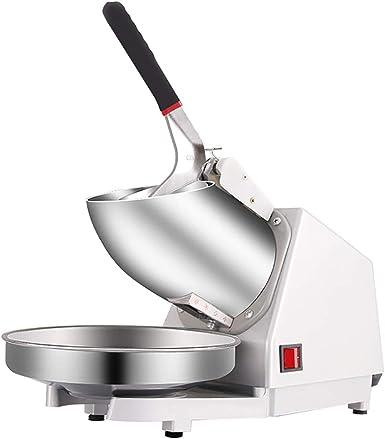 Trituradora de hielo eléctrica inoxidable, máquina de la máquina ...