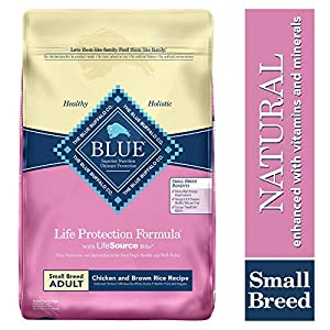 Blue Buffalo Life Protection Formula Small Breed Dog Food - Natural Dry Dog Food for Adult Dogs - Chicken and Brown Rice - 15 lb. Bag 29
