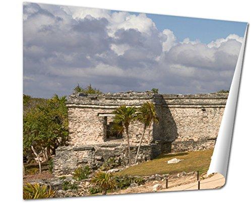 poster of tulum ruins