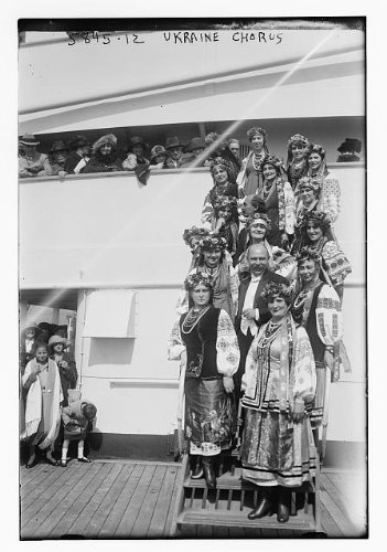 Photo: Ukraine Chorus,musicians,musical performers,women,costumes,ship (A Chorus Line Costumes)
