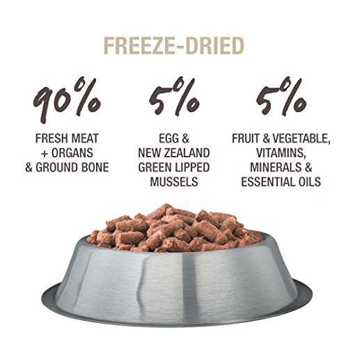 Picture of Freeze Dried Dog Food Or Topper By K9 Natural - Perfect Grain Free, Healthy, Hypoallergenic Limited Ingredients Booster For All Dog Types - Raw, Freeze Dried Mixer - Lamb 17.6Oz Pack