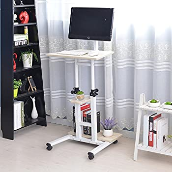 Amazoncom Soges Adjustable Stand Up Desk Computer Stand