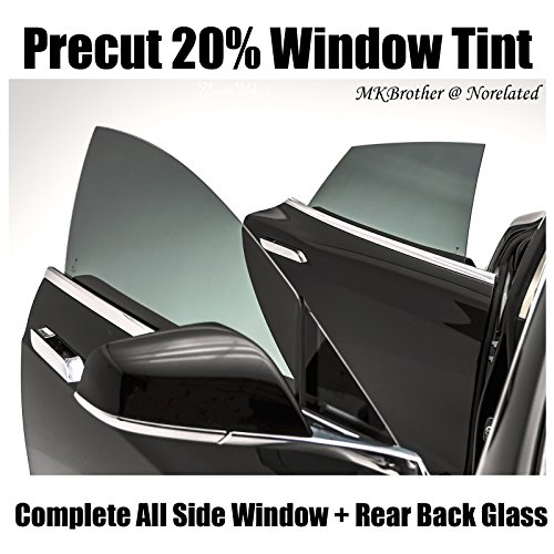 94-95 Honda Accord 5D Wagon 20% VLT Black Computer Precut Complete Window Tint Film Kit