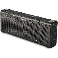 Venstar Waterproof Wireless Bluetooth 4.0 Speaker, Aluminum Portable Stereo Speaker, 1800mAH Battery Built-in Mic 2x5W Shockproof High-Def Sound - Black