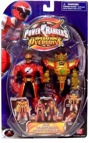 Power Rangers Operation Overdrive 5-Inch Mach Morphin Power Ranger Action Figure- Sentinel Zord Red Ranger Red Power Ranger Operation Overdrive