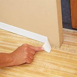Peel And Stick White Door Weather Proofing Sealer