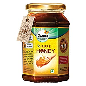Best Zandu Pure Honey, 500g India 2020 -2021 (100% Natural)