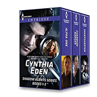 book cover of Shadow Agents Series Books 1-3