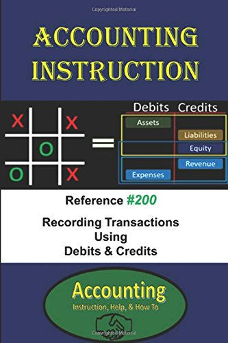 Double Entry Journal (Accounting Instruction Reference #200: Recording Transactions Using Debits & Credits)