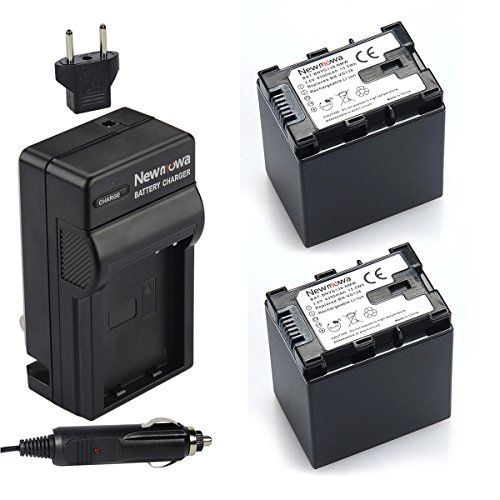 Newmowa BN-VG138 (decoded) Battery (2-Pack) and Charger k...