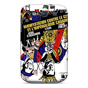 Bumper Cell-phone Hard Covers For Samsung Galaxy S3 With Provide Private Custom Realistic Rise Against Pictures IanJoeyPatricia