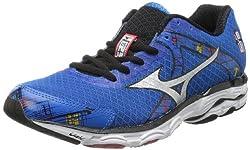 Mizuno Men's Wave Inspire 10 2E Running Shoe,White,7.5 2E US