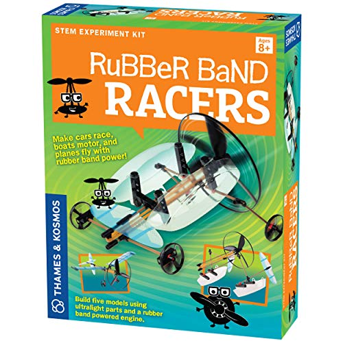 Geek & Co. Science! Rubber Band Racers Kit