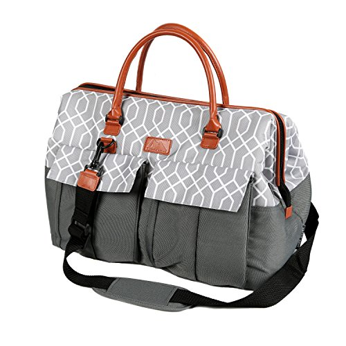 Arctic Zone 1523AMPR0423 Insulated Picnic Carrier, Gray - Grande Insulated Bag