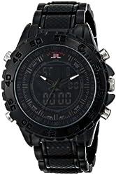 U.S. Polo Assn. Sport Men's US8576 Analog-Digital Display Analog Quartz Black Watch