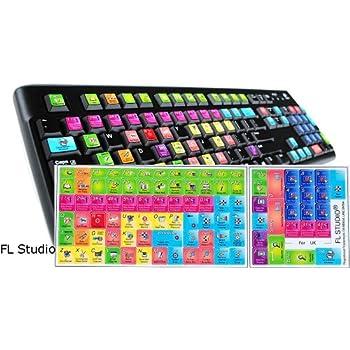 Amazon Com Fl Studio Keyboard Stickers Shortcut 11 5x13mm
