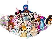 "Lilly's Love Stuffed Animal Storage Hammock - Large ""STUFFIE Party Hammock"" - Organize Stuffed A"