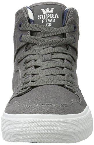 Supra Herren Vaider High-Top Grau (Grey-White)