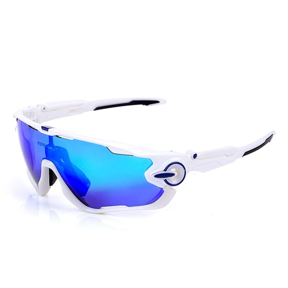 I Sinngukaba Polarized Sports Riding Glasses Transparent color Glasses for Women (color   B)