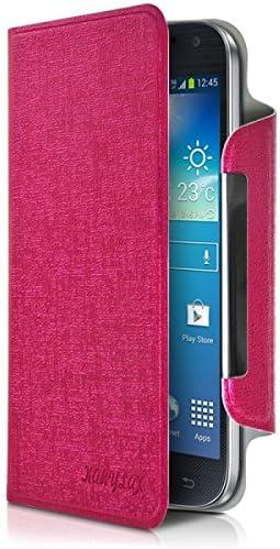 Seluxion-Funda con tapa universal L de color rosa para Carrefour Smart 5, 4 g: Amazon.es: Electrónica