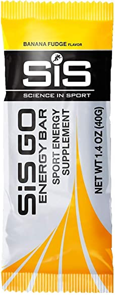 Science in Sport Go Energy Bar, Banana Fudge, 40 Gram Bars 20 Count