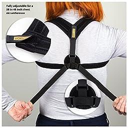 VOELUX Posture Corrector For Women Adjustable Figure 8 Clavicle Support Upper Back Brace