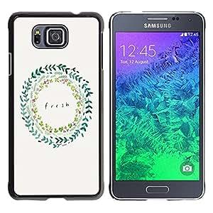 Dragon Case - FOR Samsung ALPHA G850 - money doesn??t buy class - Caja protectora de pl??stico duro de la cubierta Dise?¡Ào Slim Fit