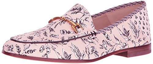 Sam Edelman Women's Loraine Loafer, Silver, 4 UK Primrose Printed Fabric