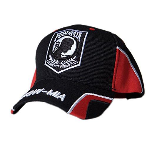 US HONOR TM Embroidered Force POW/MIA Logo Baseball Caps Hats -