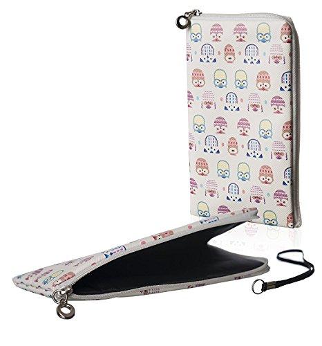 Riso chiusura Cover Softcase Gufi adatto per Cubot Note S Custodia Slim Case Cover Custodia Cover