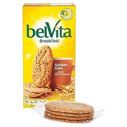 Belvita Desayuno Galletas – Crunchy Avena (6 x 50g): Amazon ...