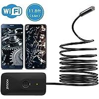 Vodool 720p 11.8-Foot Wireless Semi-Rigid Borescope Inspection Camera