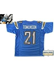 LaDainian Tomlinson Autographed/Signed San Diego Powder Blue Custom Jersey