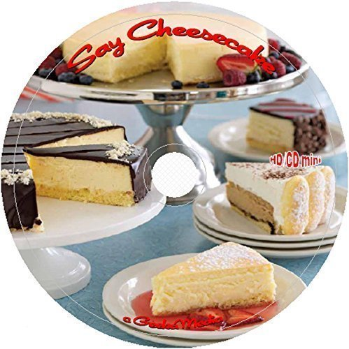 400 World Best Cheesecake Recipes on CD cookbook no bake baked gourmet